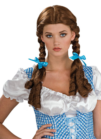 Wizard of Oz Dorothy Costume Wig - HalloweenCostumes4U.com - Accessories