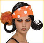 Harajuku Wigs with Polka Dot Bandanna - HalloweenCostumes4U.com - Accessories