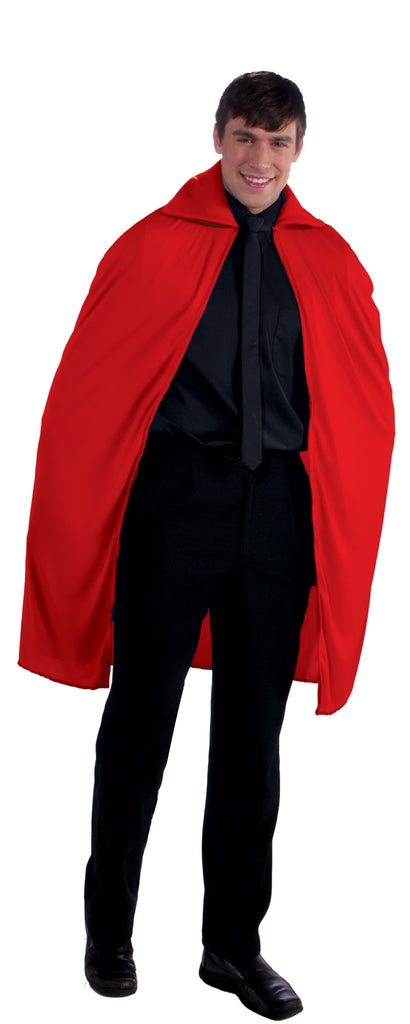 "Halloween Capes Long Red 45"" Cape"