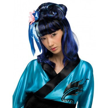 Dragon Lady Wig - Various Colors - HalloweenCostumes4U.com - Accessories - 1