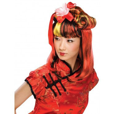 Dragon Lady Wig - Various Colors - HalloweenCostumes4U.com - Accessories - 2