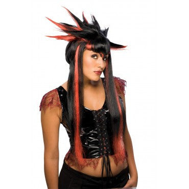 Spiker Vampire Wig - HalloweenCostumes4U.com - Accessories