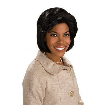First Lady Michelle Obama Wig - HalloweenCostumes4U.com - Accessories