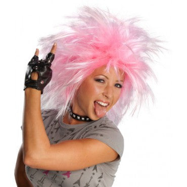 Funky Punk Wig - Various Colors - HalloweenCostumes4U.com - Accessories - 1
