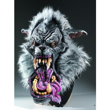 Hell Hound Mask - HalloweenCostumes4U.com - Accessories