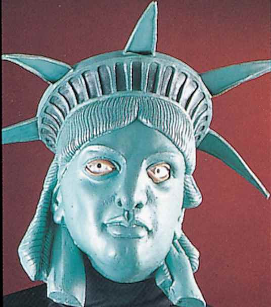 Lady Liberty Halloween Costume Masks