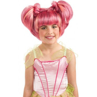 Kids Pink Spring Fairy Wig - HalloweenCostumes4U.com - Accessories