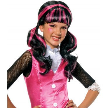Kids Monster High Draculaura Wig - HalloweenCostumes4U.com - Accessories