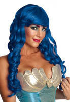 Mermaid Wig - Various Colors - HalloweenCostumes4U.com - Accessories - 1