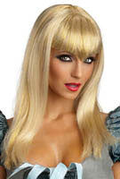 Glitter Vampire Wig - Various Colors - HalloweenCostumes4U.com - Accessories - 1