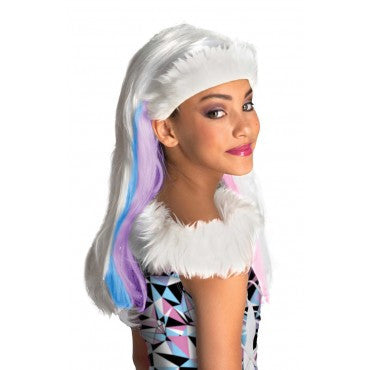 Kids Monster High Abbey Bominable Wig - HalloweenCostumes4U.com - Accessories