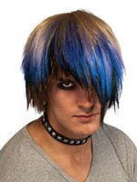 Punk Rock Pixie Wig - HalloweenCostumes4U.com - Accessories