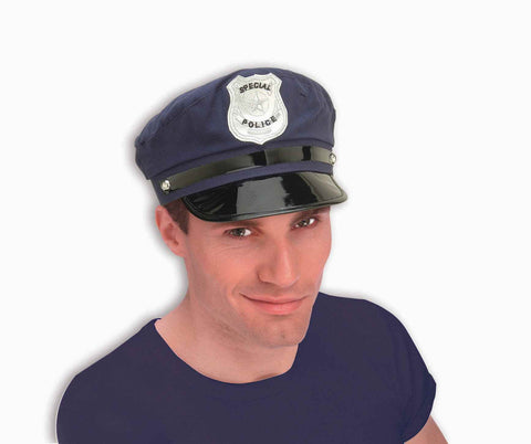 Costume Hats Police Officer Costume Hat - HalloweenCostumes4U.com - Accessories