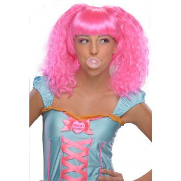 Bubble Gum Wig - Various Colors - HalloweenCostumes4U.com - Accessories - 4