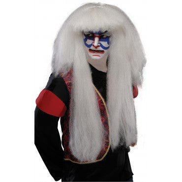 Kabuki Wig - Various Colors - HalloweenCostumes4U.com - Accessories - 2