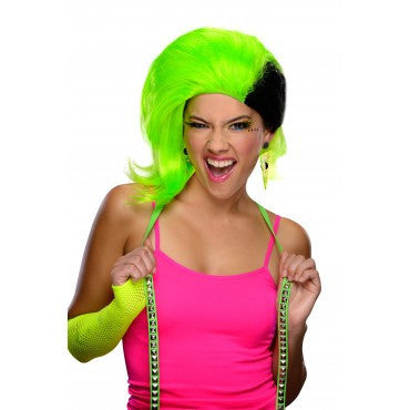 Rave Punk Wig - Various Colors - HalloweenCostumes4U.com - Accessories - 1