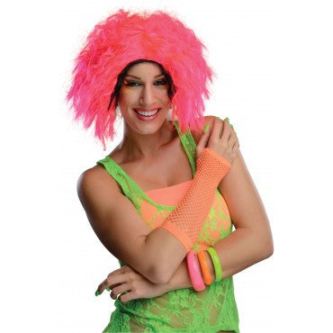 Neon Chic Wig - Various Colors - HalloweenCostumes4U.com - Accessories - 1