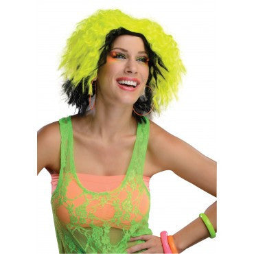 Neon Chic Wig - Various Colors - HalloweenCostumes4U.com - Accessories - 2