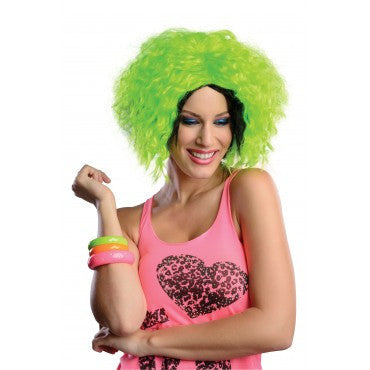 Neon Chic Wig - Various Colors - HalloweenCostumes4U.com - Accessories - 3