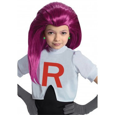 Kids Pokemon Jessie Wig - HalloweenCostumes4U.com - Accessories