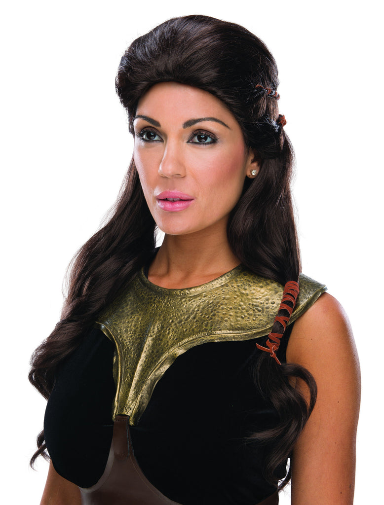 300 Movie Deluxe Queen Gorgo Wig - HalloweenCostumes4U.com - Accessories