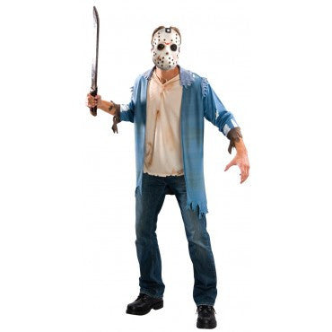 Mens Friday the 13th Jason Voorhees Costume Kit - HalloweenCostumes4U.com - Adult Costumes