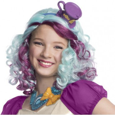 Kids Ever After High Madeline Hatter Wig - HalloweenCostumes4U.com - Accessories