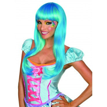 Candy Babe Wig - Various Colors - HalloweenCostumes4U.com - Accessories - 1
