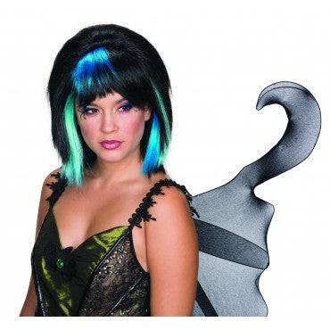 Goth Fairy Wig - Various Colors - HalloweenCostumes4U.com - Accessories - 1