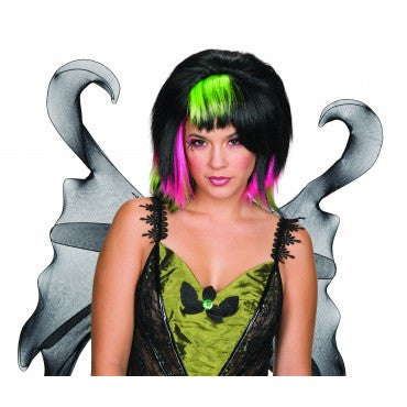 Goth Fairy Wig - Various Colors - HalloweenCostumes4U.com - Accessories - 2