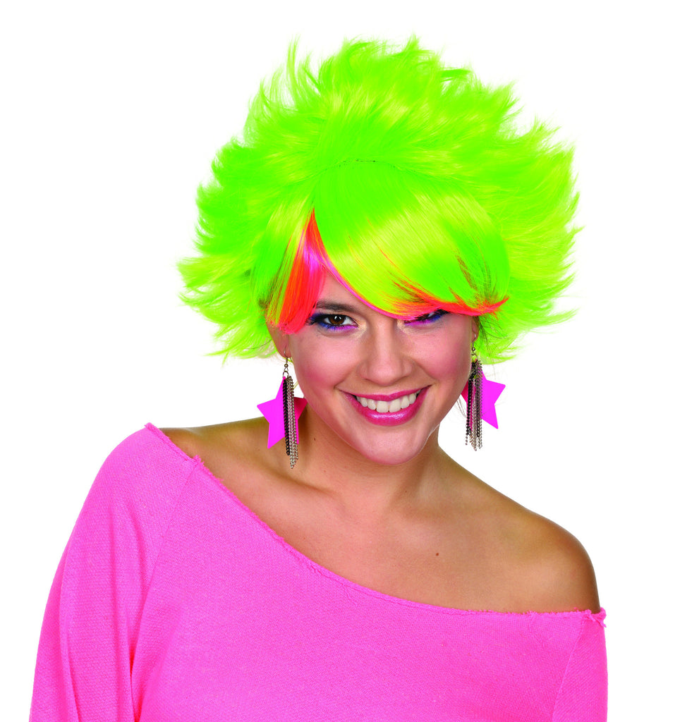 80's Pop Wig - Various Colors - HalloweenCostumes4U.com - Accessories - 1
