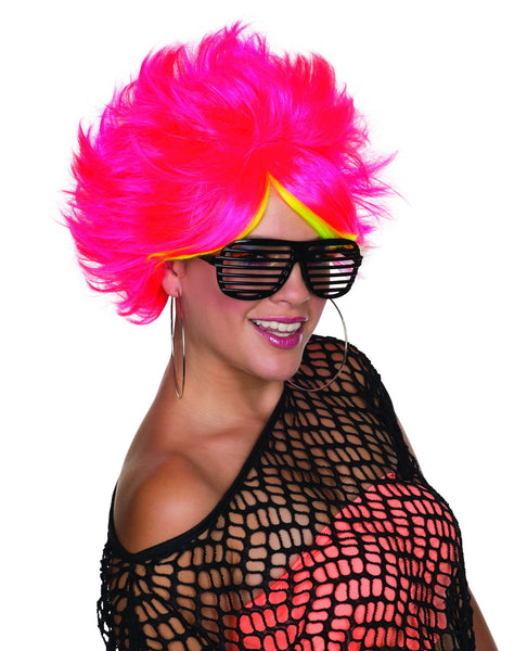 80's Pop Wig - Various Colors - HalloweenCostumes4U.com - Accessories - 3
