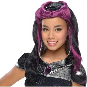 Kids Ever After High Raven Queen Wig - HalloweenCostumes4U.com - Accessories