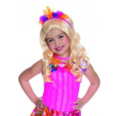 Kids Barbie Alexa Wig with Headpiece - HalloweenCostumes4U.com - Accessories