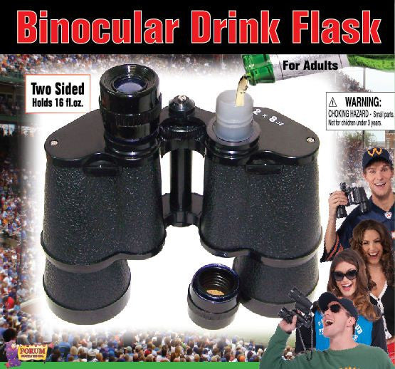 Binocular Flask - HalloweenCostumes4U.com - Accessories - 2