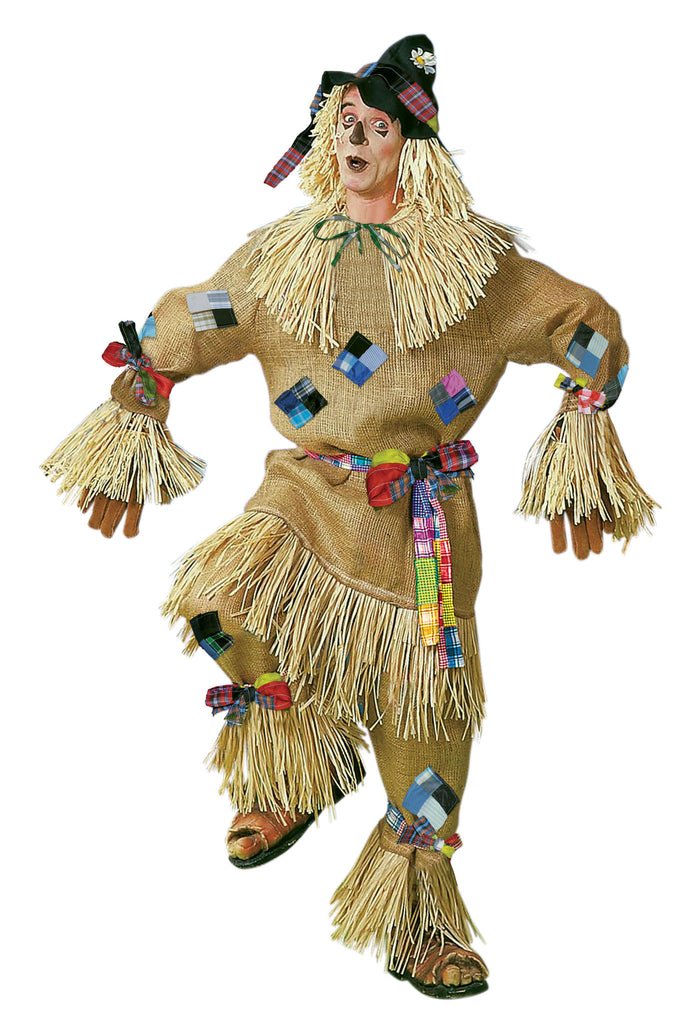Deluxe Scarecrow Costumes Adults Halloween Costume - HalloweenCostumes4U.com - Adult Costumes