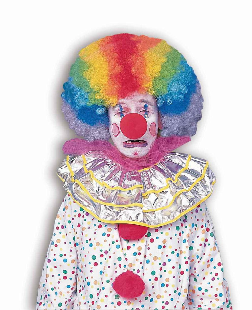 Clown Wigs Multi Color Afro Costume Wig