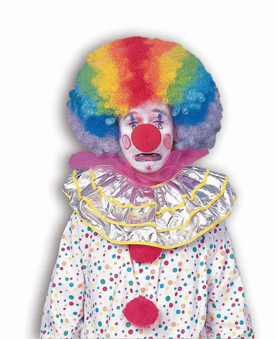 Clown Wigs Multi Color Afro Costume Wig - HalloweenCostumes4U.com - Accessories
