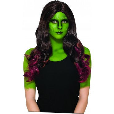 Guardians of the Galaxy Gamora Wig - HalloweenCostumes4U.com - Accessories