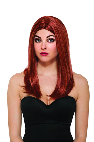 Avengers Black Widow Wig - HalloweenCostumes4U.com - Accessories