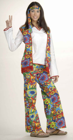 Hippie Costumes Adults Hippie Woman Halloween Costume - HalloweenCostumes4U.com - Adult Costumes  sc 1 st  Halloween Costumes 4U & Womens 70s Costumes - Womens