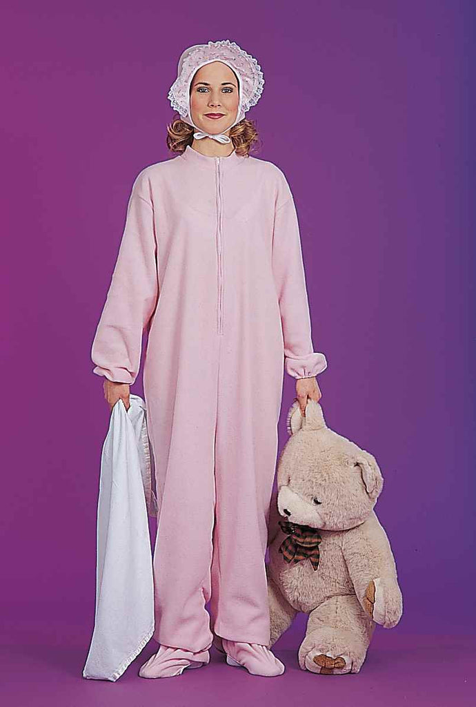 Halloween Costumes Adult Pajamas Pink - HalloweenCostumes4U.com - Adult Costumes