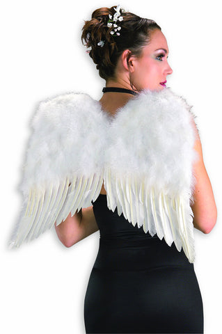Costume Accessories Feather Wings White - HalloweenCostumes4U.com - Accessories