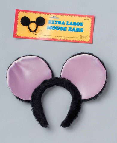 Fancy Mouse Ears Halloween Costume Accessory - HalloweenCostumes4U.com - Accessories