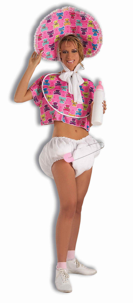 Jumbo Pink Baby Bottle Halloween Costume Accessory - HalloweenCostumes4U.com - Accessories