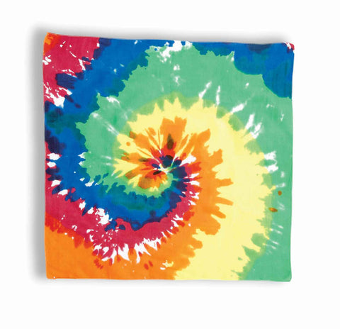 Hippie Halloween Costume Tie Dye Bandanas - HalloweenCostumes4U.com - Accessories