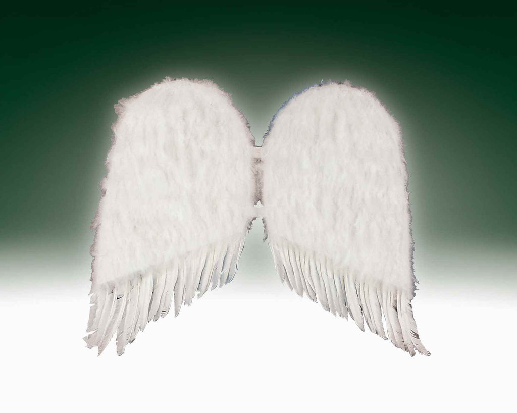 Costume Wings White Feather Wings