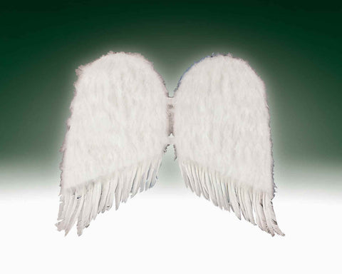 Costume Wings White Feather Wings - HalloweenCostumes4U.com - Accessories