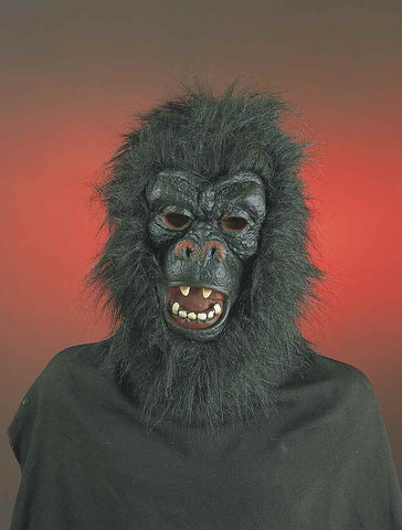 Gorilla Masks Halloween Costume Mask - HalloweenCostumes4U.com - Accessories