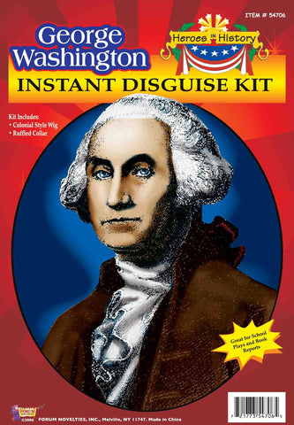 Costume Kits George Washington Costume Kit - HalloweenCostumes4U.com - Accessories